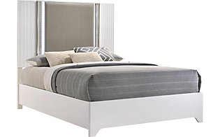 Global Aspen White Queen Bed