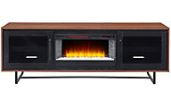 Greentouch Usa Santa Ana Walnut Media Fireplace