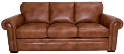Gtr Leather 6369 Collection 100% Leather Sofa
