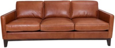 Gtr Leather 6379 Collection 100% Leather Sofa