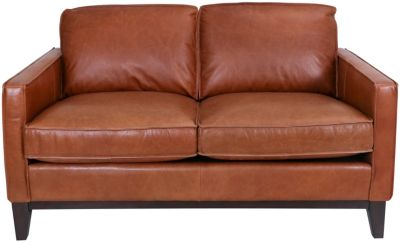 Gtr Leather 6379 Collection 100% Leather Loveseat