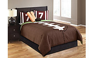 Hallmart Touchdown 6-Piece Full Comforter Set