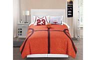 Hallmart Courtside 3-Piece Twin Comforter Set