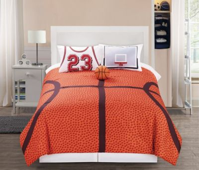 Hallmart Courtside 4-Piece Full Comforter Set