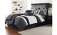 Hallmart Hartford 7-Piece Queen Comforter Set