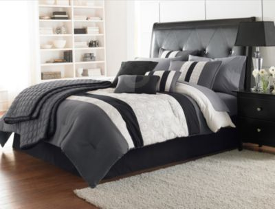 Hallmart Hartford 7-Piece King Comforter Set