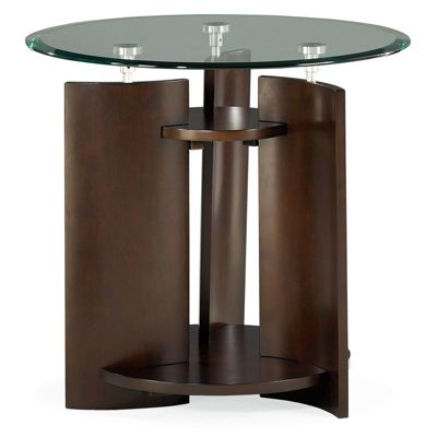 Hammary Furniture Round End Table