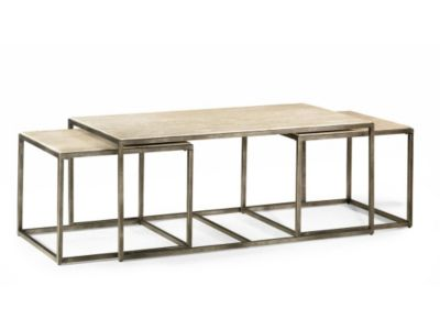 Hammary Furniture Modern Basics Coffee Table & 2 Nesting Tables