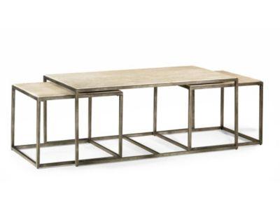Hammary Furniture Modern Basics Coffee Table U0026 2 Nesting Tables