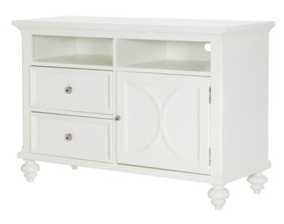 Hammary Furniture Lynn Haven 48-Inch White TV Console