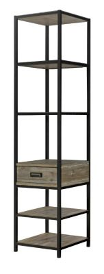 Hammary Furniture Parsons Corner Etagere Bookcase