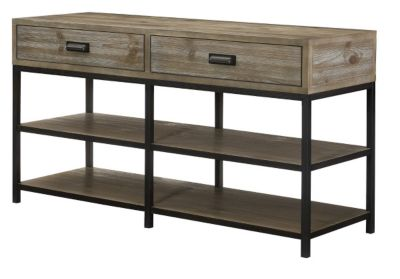 Hammary Furniture Parsons 56-Inch Entertainment Console