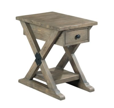 Hammary Furniture Reclamation Place Chairside Table