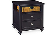 Hammary Furniture Camden Black End Table