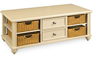 Hammary Furniture Camden Cream Coffee Table