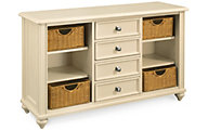 Hammary Furniture Camden Cream Console Table