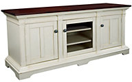 Hammary Furniture Promenade 62-Inch White TV Console
