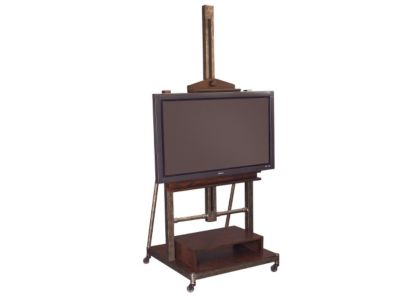 Hammary Furniture Structure Easel TV Stand with Mount