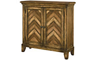 Hammary Furniture Hidden Treasures Chevron Cabinet