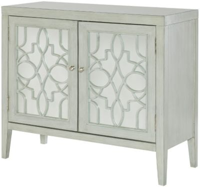 Hammary Furniture Hidden Treasures Mirrored Door Cabinet