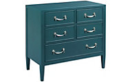 Hammary Furniture Hidden Treasures Teal Chest