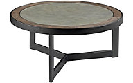 Hammary Furniture Graystone Round Cocktail Table