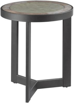 Hammary Furniture Graystone Round End Table