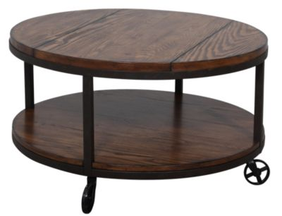 Gentil Hammary Furniture Baja Round Coffee Table