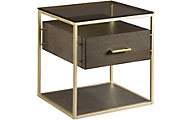 Hammary Furniture Essence Drawer End Table