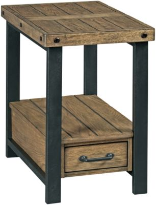Hammary Furniture Workbench Chairside Table