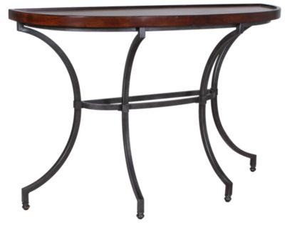 Hammary Furniture Barrow Demilune Sofa Table