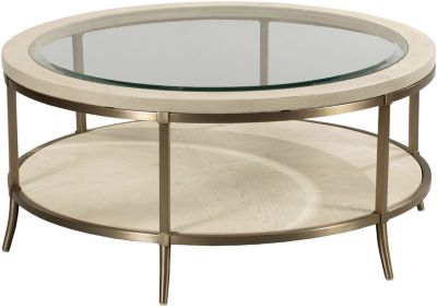Hammary Furniture Lenox Round Coffee Table