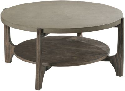 Hammary Furniture Delray Round Cocktail Table