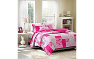 Hampton Hill Abbey 3-Piece Twin Coverlet Set
