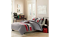 Hampton Hill Pipeline 4-Piece Full Comforter Set