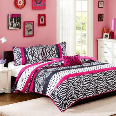 Hampton Hill Reagan 4-Piece Full Coverlet Set
