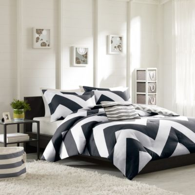 Hampton Hill Libra 4-Piece Full/Queen Comforter Set
