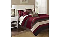 Hampton Hill Boulder 7-Piece Full/Queen Bedding Set