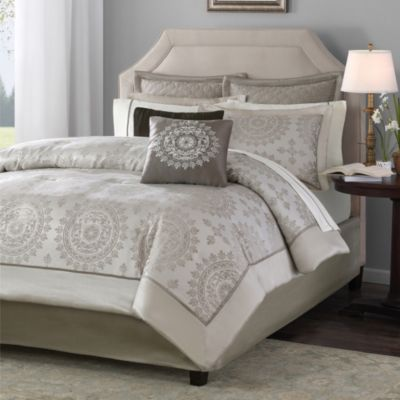 Hampton Hill Tiburon 12-Piece Full/Queen Comforter Set