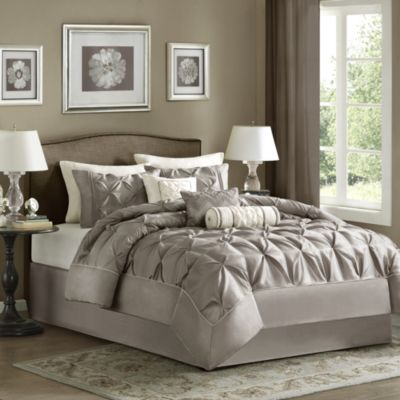 Hampton Hill Laurel 7-Piece King Comforter Set