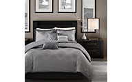 Hampton Hill Quinn 6-Piece Queen Duvet Cover Set