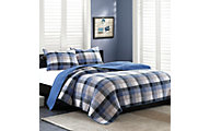 Hampton Hill Maddox 3-Piece Full/Queen Coverlet Set