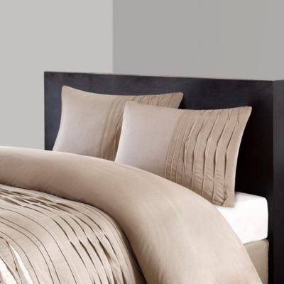 Hampton Hill Nara Neutral 4-Piece Queen Comforter Set