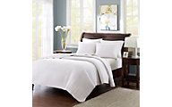 Hampton Hill Keaton White Two-Piece Twin Coverlet Set