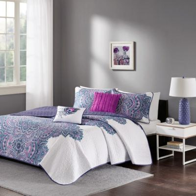 Hampton Hill Mila 5-Piece Full Coverlet Set