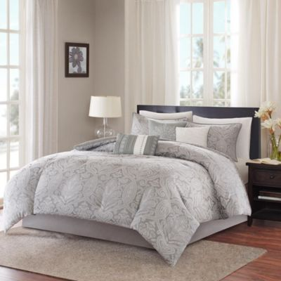 Hampton Hill Averly 7-Piece Queen Comforter Set