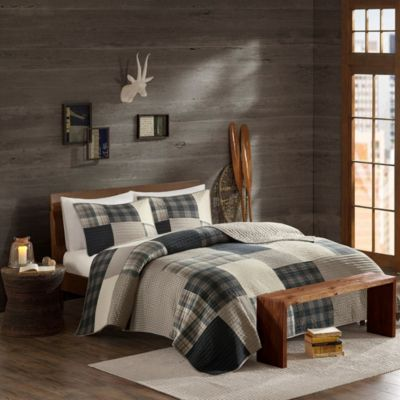 Hampton Hill Winter Hills 3-Piece Queen Quilt Set