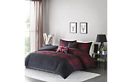 Hampton Hill Bryce 5-Piece Full Comforter Set