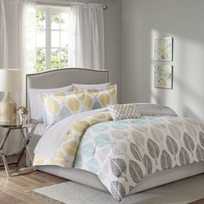 Hampton Hill Central Park 9-Piece Queen Comforter Set