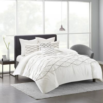 Hampton Hill Sunita 7-Piece Queen Duvet Cover Set